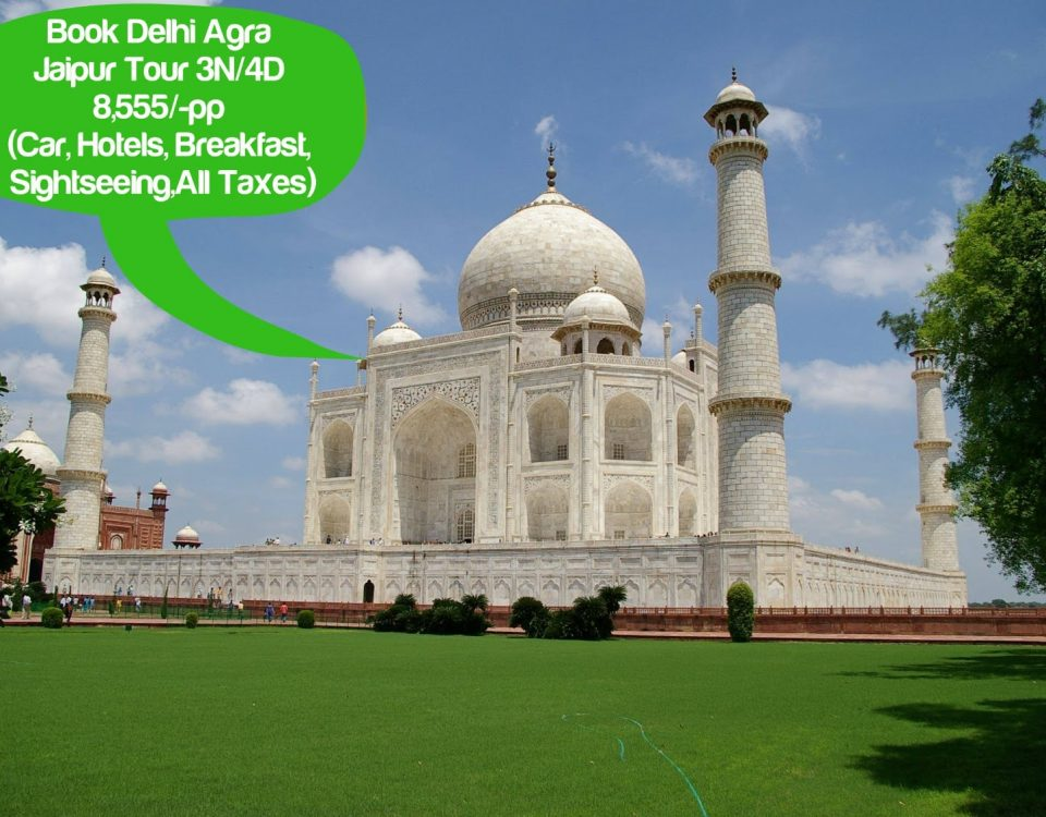 Delhi To Agra Taj Mahal Tour Packages
